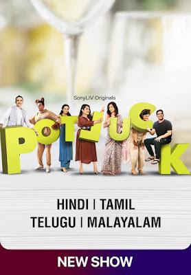 Potluck Season 01 Hindi WEB Series 720p HDRip ESub HEVC x265 | All Episode