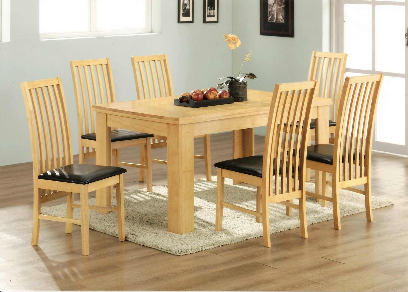 L Shaped Dinner Table