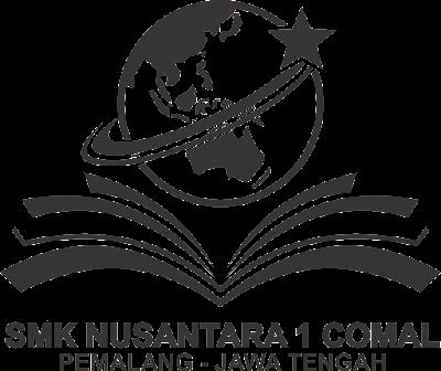 Logo SMK Nusantara 1 Comal baru