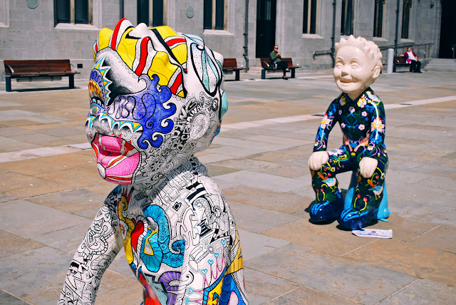 Scotspirit and Strawberry Thief - Oor Wullie Bucket Trail Aberdeen