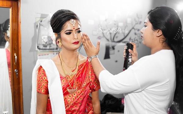 Assemese Wedding Makeup