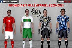 NEW Indonesia Apparel Mills 2020 Kits - PES 2017