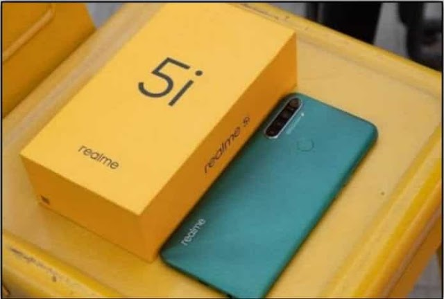Realme 5i launch, four rear cameras and 5,000 mAh battery