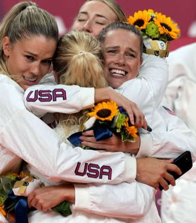 US Beats China in Gold Medal Race In Tokyo Olympic 2020