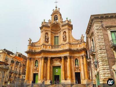 Basilica della Collegiata, Catania | Sicily, Italy | wayamaya
