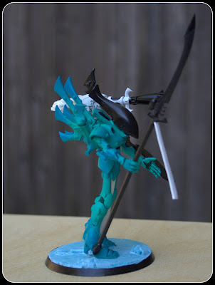 Airbrushed Wraithseer conversion in Mymeara colors