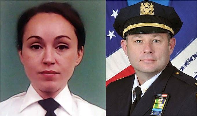 Una teniente hispana borracha  y un sargento del NYPD sorprendidos teniendo sexo en baño de Unidad de Asistencia Familiar