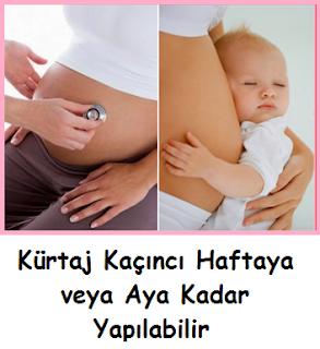 Kürtaj Kaçıncı Haftaya veya Aya Kadar Yapılabilir
