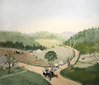 Vermont landscape, delicate palette