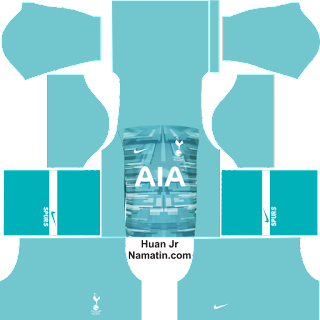 Link Kostum Dream League Soccer Tottenham