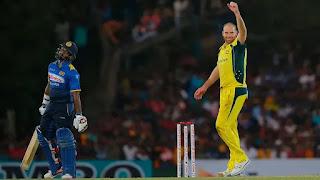 John Hastings 6-45 vs Sri Lanka Highlights