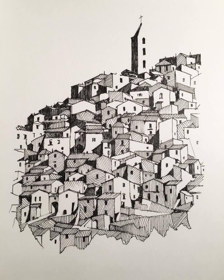12-Hillside-town-in-Italy-Mark-Poulier-www-designstack-co