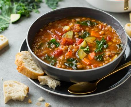 Lentil Soup #vegetarian #food #healthydinner #shrimp #breakfast