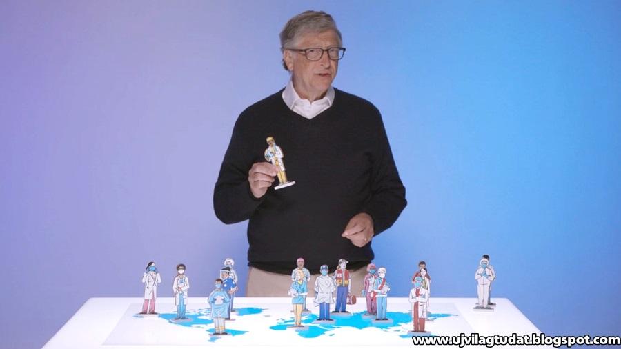 """Bill Gates egy globális riasztórendszert és """"pandémiás tűzoltó osztagokat"""" szorgalmaz a Covid-19 utáni világ számára"""
