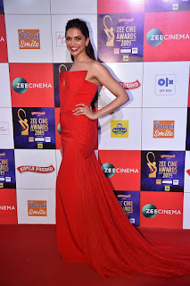 Deepika Padukone At Zee Cine Awards 2019