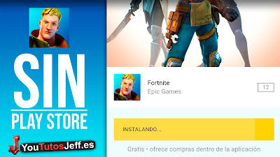 como descargar fortnite android
