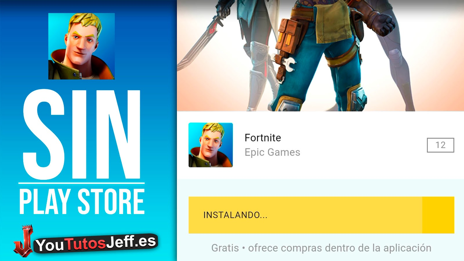 Como Descargar Fortnite para Android SIN PLAY STORE