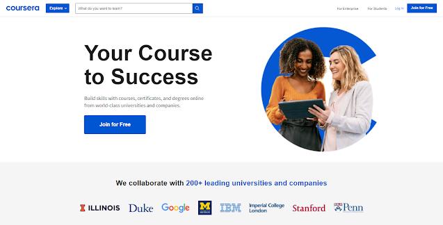 Platform Belajar Online Coursera