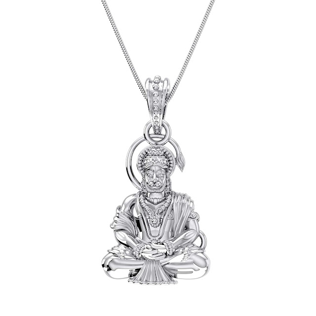 Lord Hanuman Pendant for Men