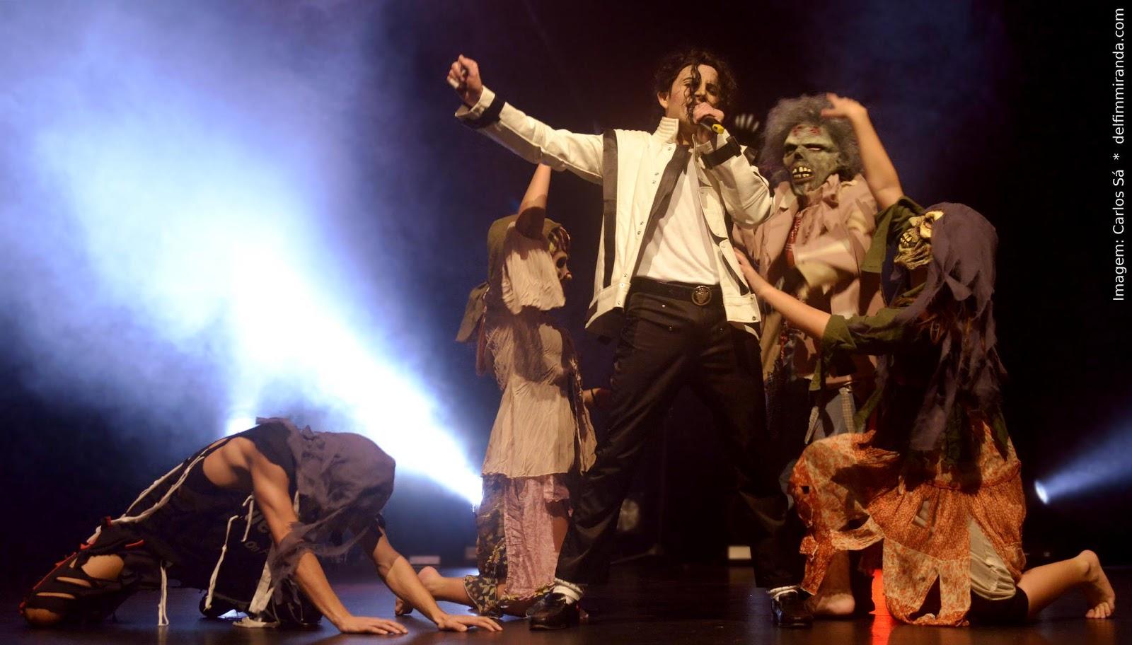 Delfim Miranda - Michael Jackson Tribute - Thriller - Live on Stage - White jacket