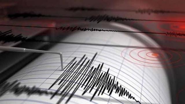 Σεισμός 5,9 Ρίχτερ νοτιοανατολικά της Κρήτης