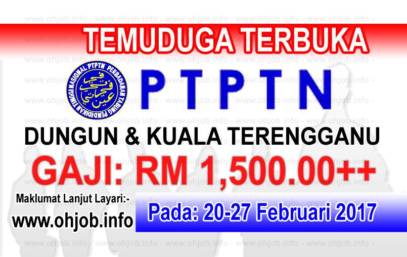 Jawatan Kerja Kosong PTPTN logo www.ohjob.info februari 2017