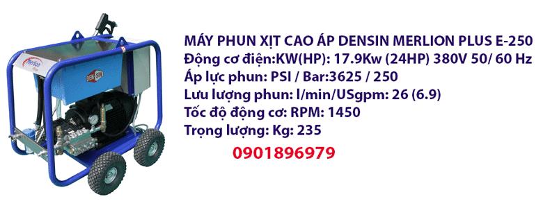 MÁY PHUN XỊT CAO ÁP DENSIN MERLION PLUS E-250