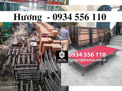 Sân khấu di động giá rẻ Hà Nội