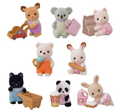 Пакетики с сюрпризом Calico Critters Baby Shopping Series 2019