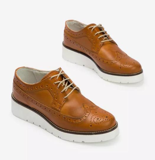 Pantofi Oxford dama piele naturala Maro reducere