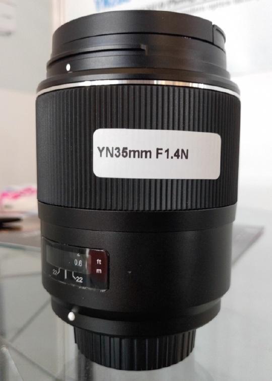 Yongnuo YN 35mm f/1.4 N для Nikon