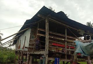 Miris Rumah Milik Warga Desa Pattontongan Maros tak Tersentuh Bantuan Pemerintah