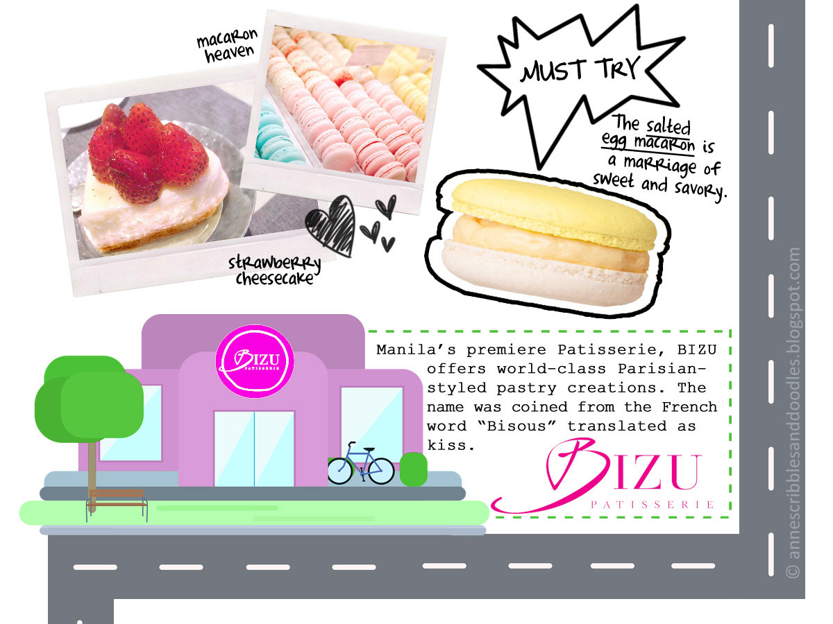 Foodpanda's The Good Food Tour: Bizu Patisserie | Anne's Scribbles and Doodles