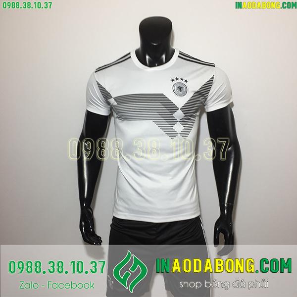 Áo bóng đá đội tuyển Đức màu trắng