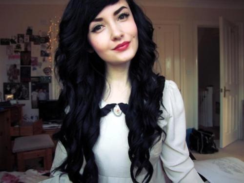 STEPHIE ORIGINALS: Schwarze Haare ♥