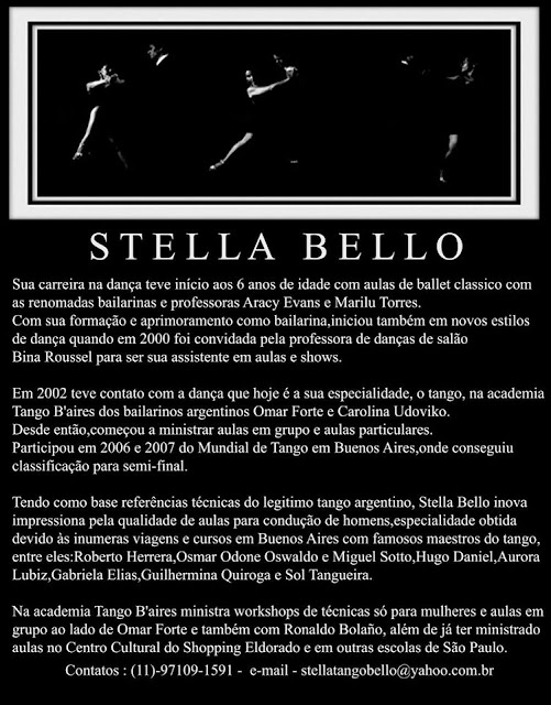 Stella Bello - Técnica para Mulheres - 1º Tango Abc