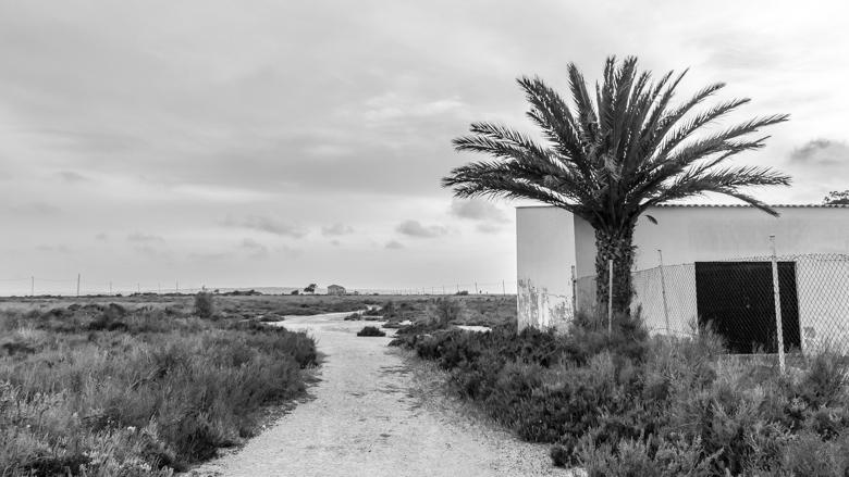 sol atardecer salinas sal Santa Pola Alicante