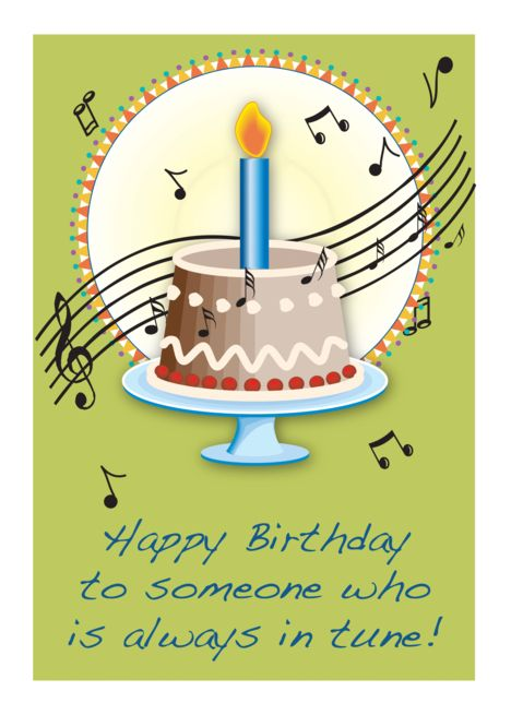 Cool Birthday Wishes for Musician