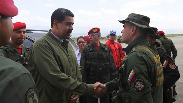 """Maduro llama a tener """"los fusiles, los misiles y los tanques bien aceitados"""" para defender al país"""