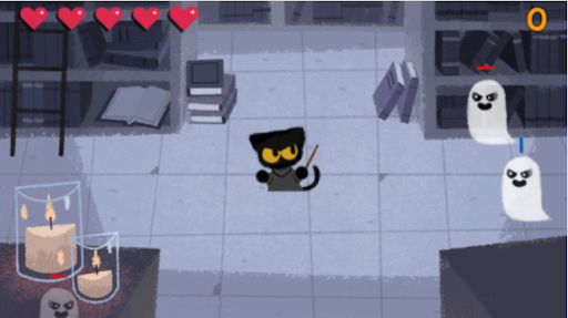 magical cat wizard