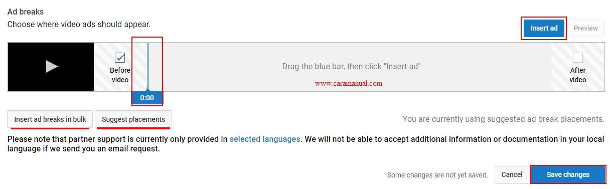 Ad breaks - YouTube