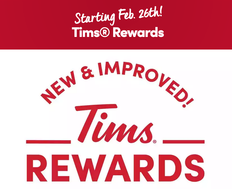 Tim Hortons Tims Rewards being revamped - changes coming on February 26
