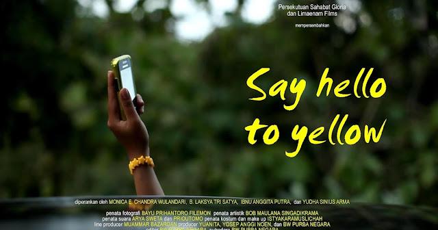 Say Hello to Yellow