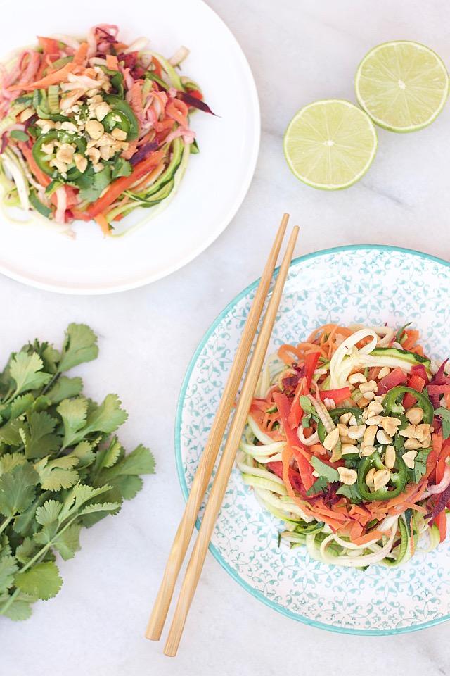 Ma Salade Pad Thaï Légère