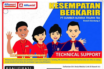 Lowongan Kerja Technical Support Grup Alfa