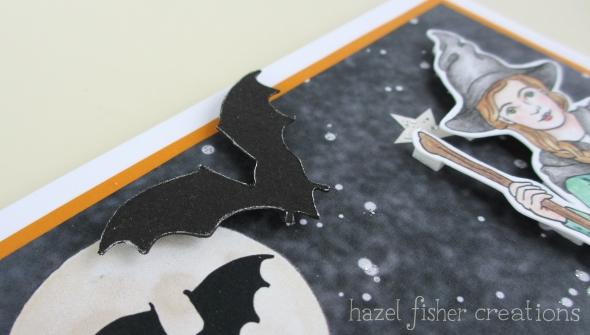 Halloween card close up 1 hazelfishercreations