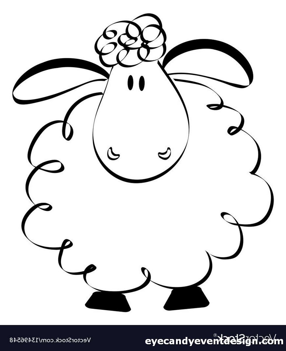 Schaf Ausmalbilder