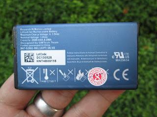 baterai Blackberry Q10 NX-1