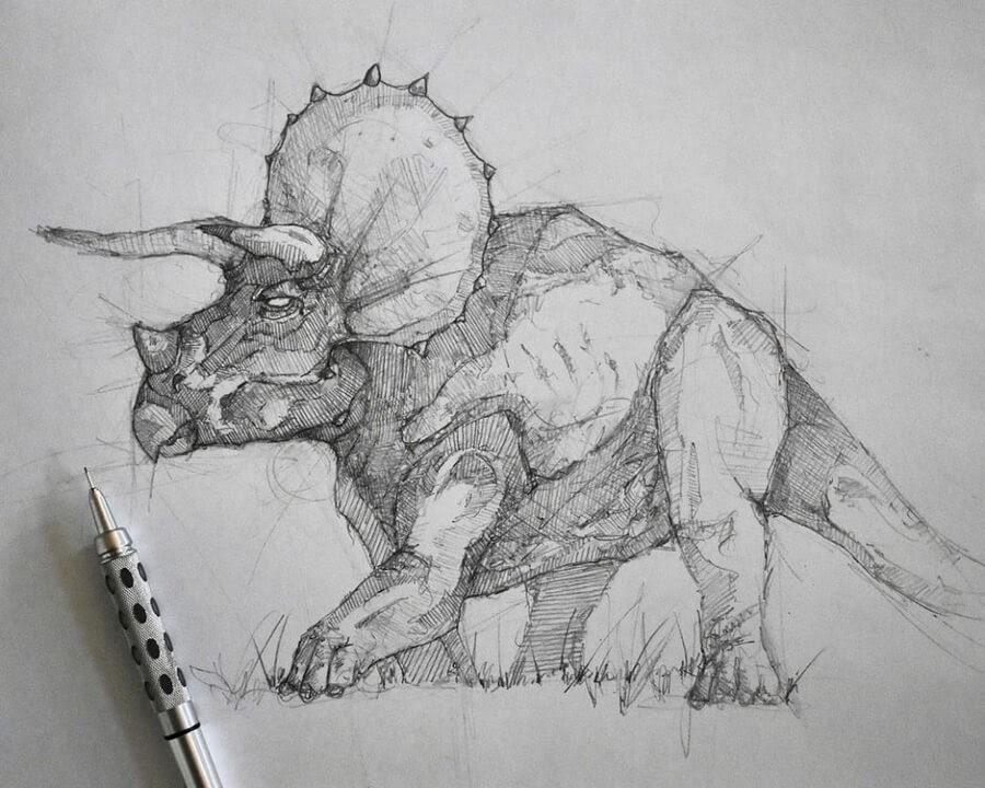 02-Triceratops-Dinosaur-Brendan-www-designstack-co