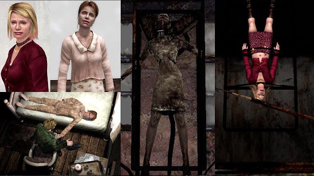 María Mary Boss Jefe Enferma James Muerte Simbolismo de monstruos de SIlent Hill 2